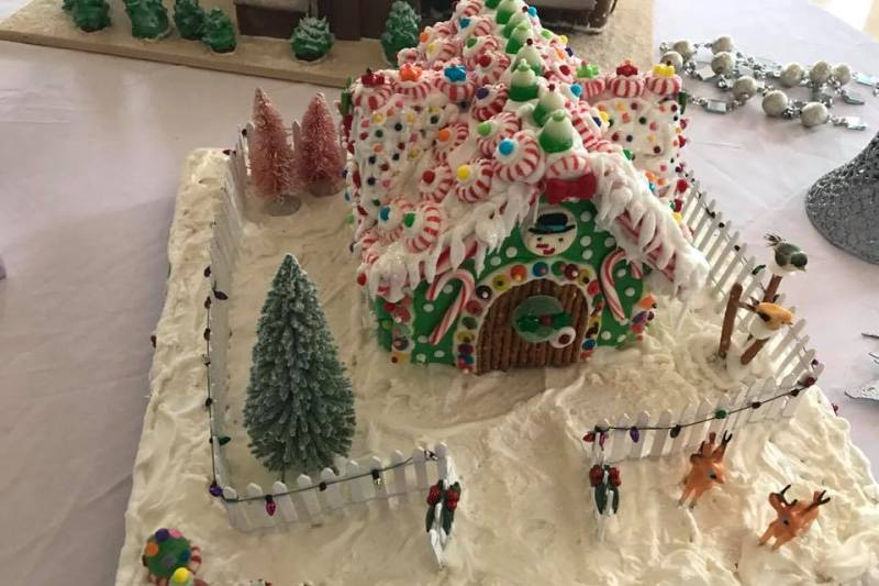 Hotel Petaluma Gingerbread House Contest