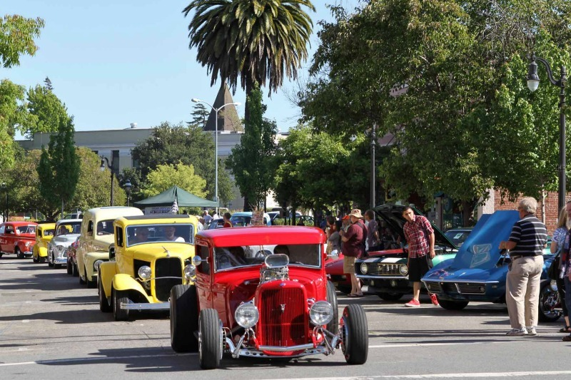 Petaluma s salute to american graffiti visit petaluma for Petaluma craft fair 2017