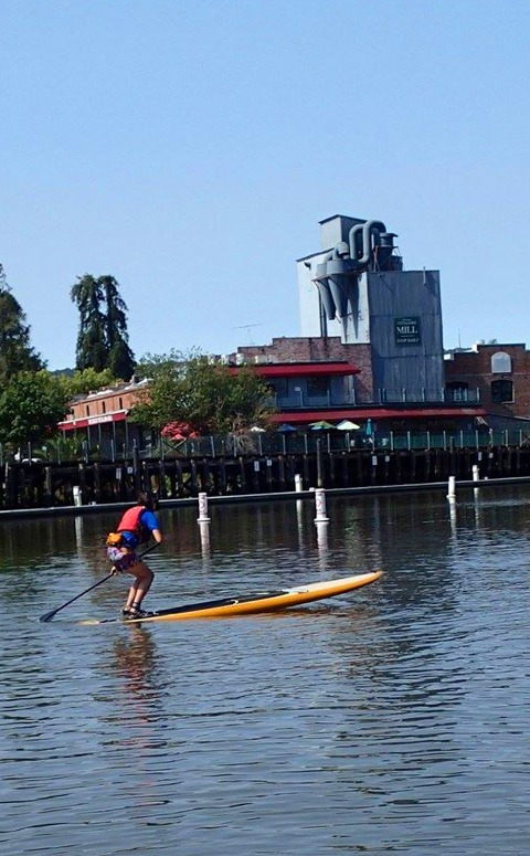 SUP the Petaluma River