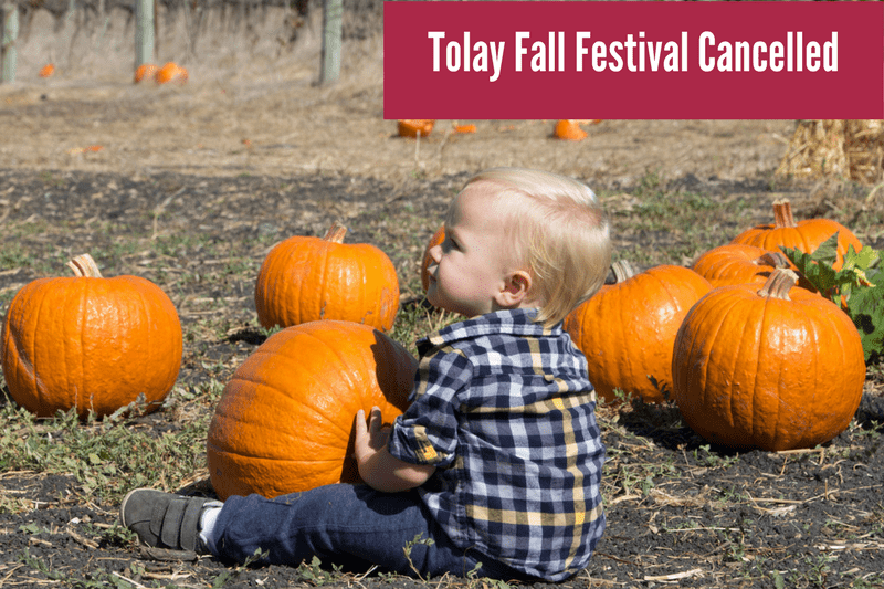 2017 Tolay Fall Festival Cancelled