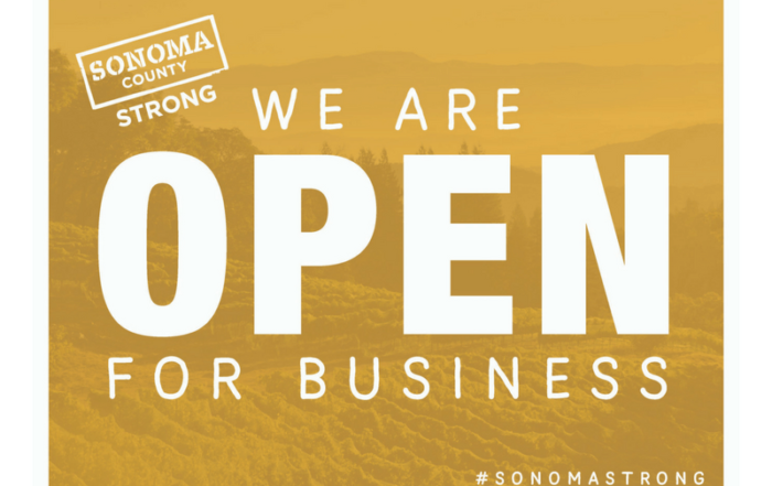 Sonoma County Open for Business
