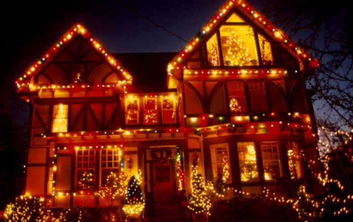 City of Lights Decorated Home