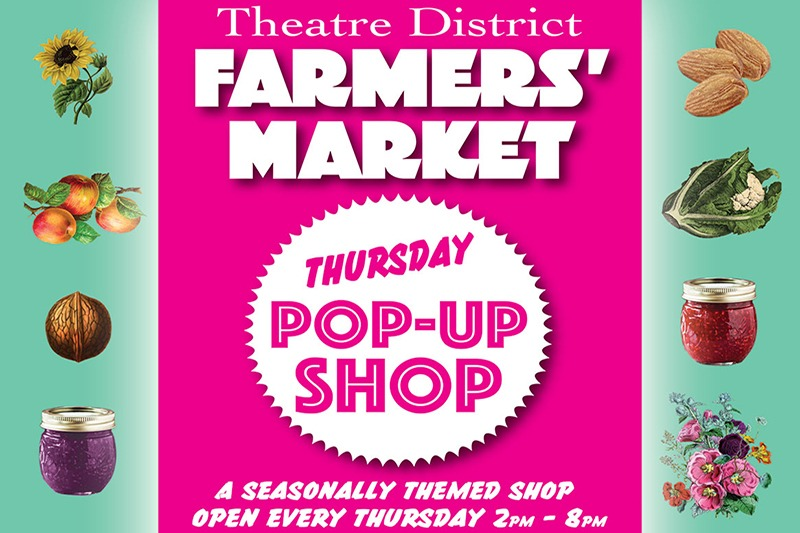 Petaluma Farmers Market Pop Up Shop